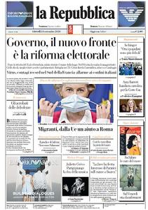 la Repubblica - 24 Settembre 2020