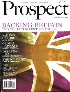 Prospect Magazine - December 2000