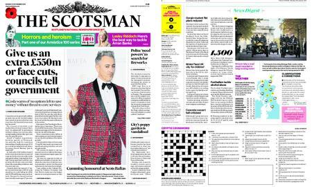 The Scotsman – November 05, 2018