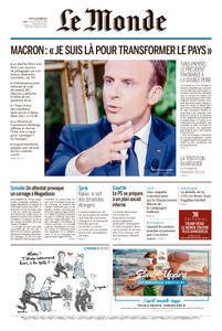 Le Monde du Mardi 17 Octobre 2017