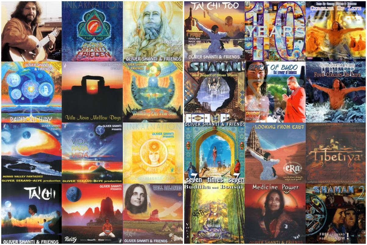 Oliver Shanti And Friends - Discography (1987 - 2006)