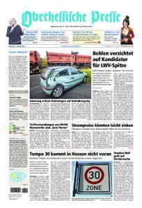 Oberhessische Presse Marburg/Ostkreis - 17. Oktober 2017