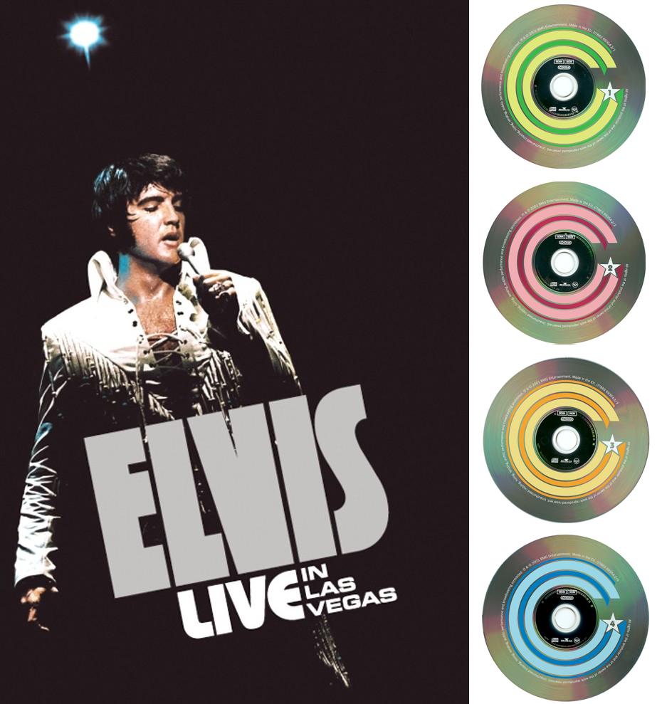 Elvis Presley - Live In Las Vegas (4-CD BOXSET) (2001)