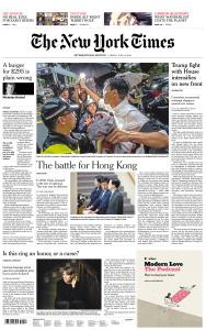 International New York Times - 14 June 2019