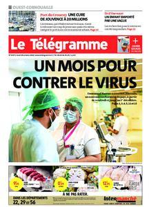Le Télégramme Ouest Cornouaille – 29 octobre 2020