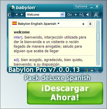 Babylon-Pro 7.0.0.13 + Pack Spanish deLuxe
