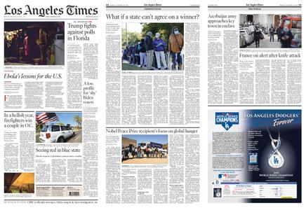 Los Angeles Times – October 30, 2020