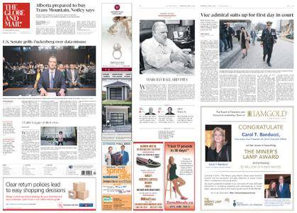 The Globe and Mail – April 11, 2018