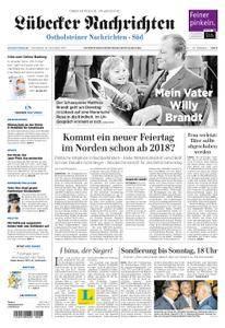 Lübecker Nachrichten Ostholstein Süd - 18. November 2017