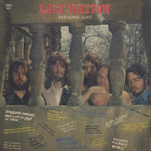 Lost Nation - Paradise Lost (1970) US 1st Pressing  - LP/FLAC In 24bit/96kHz