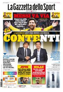 La Gazzetta dello Sport Roma – 26 agosto 2020
