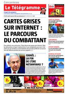 Le Télégramme Concarneau – 19 septembre 2019