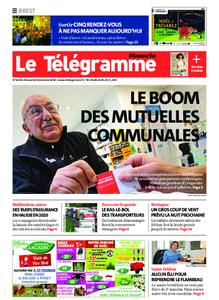 Le Télégramme Brest Abers Iroise – 08 décembre 2019
