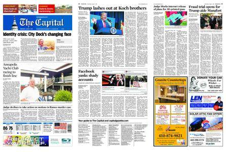 The Capital – August 01, 2018