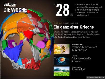 Spektrum Die Woche – 12. Juli 2019