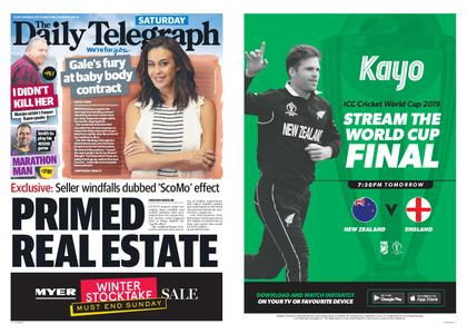 The Daily Telegraph (Sydney) – July 13, 2019