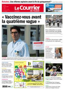 Le Courrier de l'Ouest Angers – 05 juillet 2021
