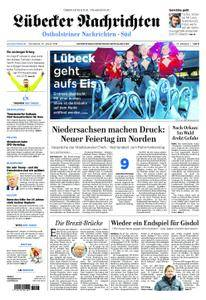Lübecker Nachrichten Ostholstein Süd - 20. Januar 2018