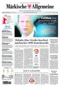 Neue Oranienburger Zeitung - 07. Februar 2018