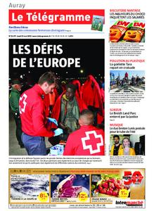 Le Télégramme Auray – 23 mai 2019