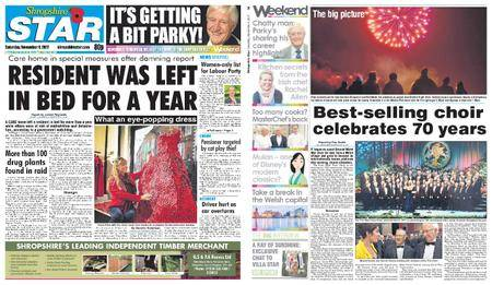 Shropshire Star Shrewsbury Edition – November 04, 2017
