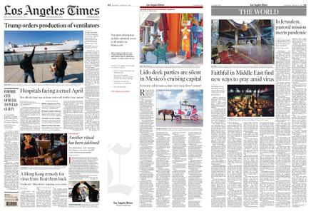 Los Angeles Times – March 28, 2020