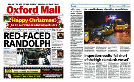 Oxford Mail – December 24, 2018