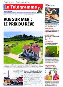 Le Télégramme Ouest Cornouaille – 01 septembre 2019
