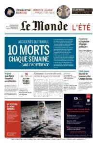 Le Monde du Mardi 16 Juillet 2019
