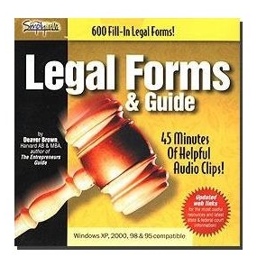 Simply Media 120035 600 Legal Forms & Guide ISO