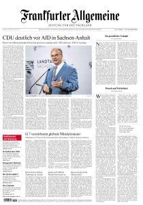 Frankfurter Allgemeine Zeitung - 7 Juni 2021