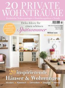 20 Private Wohnträume - August-September 2020