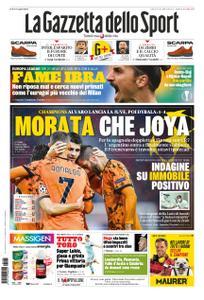 La Gazzetta dello Sport Roma – 05 novembre 2020