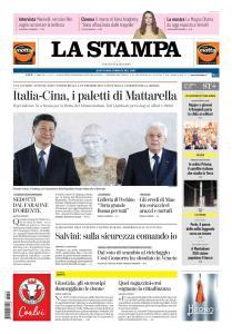 La Stampa Torino Provincia e Canavese - 23 Marzo 2019