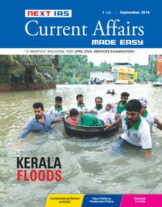 Current Affairs Made Easy - September 2018