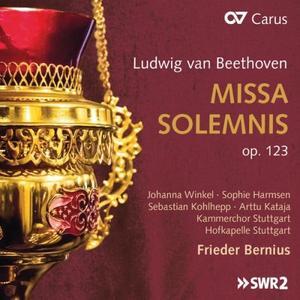 Winkel, Harmsen, Koghhepp, Kataja, Kammerchor Stuttgart - Beethoven: Missa solemnis, Op. 123 (2019)
