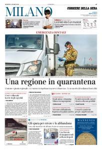 Corriere della Sera Milano – 08 marzo 2020