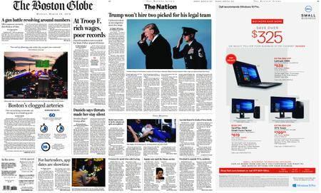 The Boston Globe – March 26, 2018