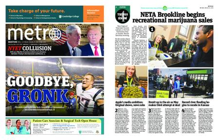 Metro Boston – March 25, 2019