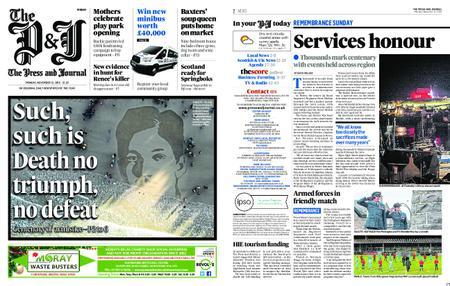 The Press and Journal Moray – November 12, 2018
