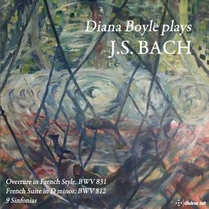 Diana Boyle - Bach: Works for Keyboard (2019) [Official Digital Download 24/96]