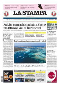 La Stampa Torino Provincia e Canavese - 13 Agosto 2019