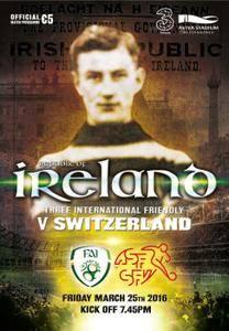 FAI Republic of Ireland Football - March 23, 2016