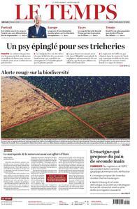 Le Temps - 07 mai 2019