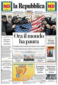 la Repubblica - 4 Gennaio 2020