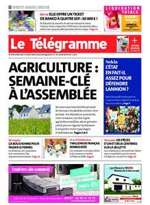 Le Télégramme Brest Abers Iroise – 07 octobre 2020
