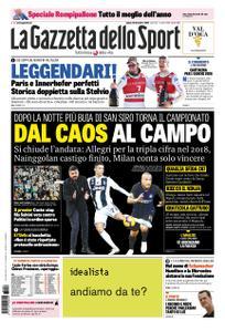 La Gazzetta dello Sport Roma – 29 dicembre 2018