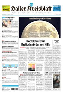 Haller Kreisblatt – 20. Juli 2019