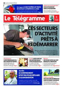 Le Télégramme Ouest Cornouaille – 26 avril 2020