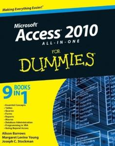 Access 2010 All-in-One For Dummies (Repost)